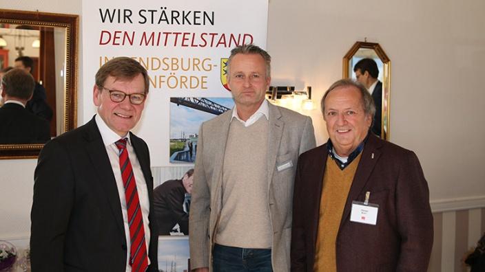 Johann Wadephul, Stefan Schmitz und Günter Kohl